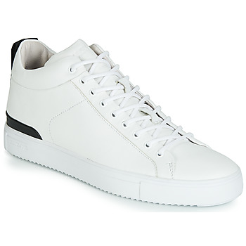 Schuhe Herren Sneaker High Blackstone RM14 Weiss