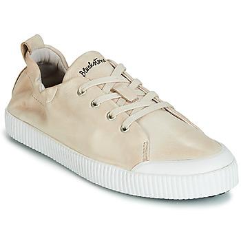Schuhe Damen Sneaker Low Blackstone RL78 Beige