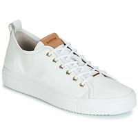 Schuhe Damen Sneaker Low Blackstone PL97 Weiss