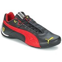 Schuhe Herren Sneaker Low Puma FUTURE CAT LEATHER SF -10- Schwarz / Rot