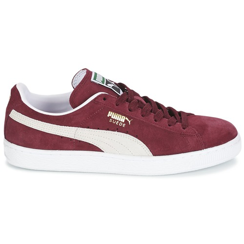 Puma SUEDE CLASSIC Rot / Weiss