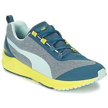 Schuhe Damen Laufschuhe Puma IGNITE XT Blau / Gelb