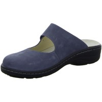 Schuhe Damen Pantoletten / Clogs Longo Pantoletten 30.558 3069607-4 blau