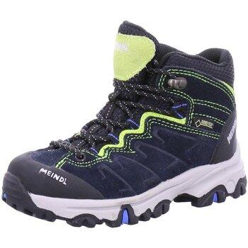 Schuhe Jungen Wanderschuhe Meindl Bergschuhe 2086-22 blau