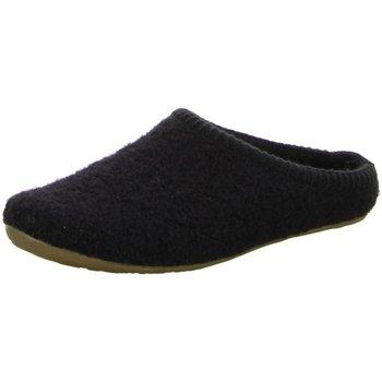Schuhe Herren Hausschuhe Haflinger Classic 481002-03 schwarz