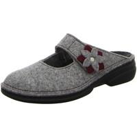 Schuhe Damen Hausschuhe Finn Comfort ARLBERG 06560-901198 grau