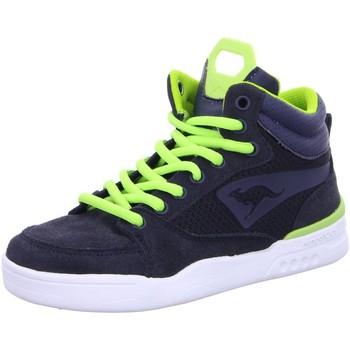 Schuhe Jungen Sneaker High Kangaroos High 1733 A  1733A blau
