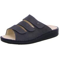 Schuhe Damen Pantoffel Finn Comfort Pantoletten Korfu 1508 419388 1508419388 grau