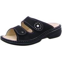 Schuhe Damen Pantoffel Finn Comfort Pantoletten Beverly S 82574007099 schwarz