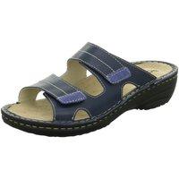 Schuhe Damen Pantoffel Rohde Pantoletten 5777-50 blau