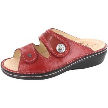 Schuhe Damen Pantoffel Finn Comfort Pantoletten 82582-901238 rot
