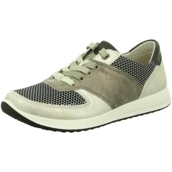 Schuhe Damen Sneaker Low Legero Schnuerschuhe 00880-24 beige