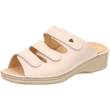 Schuhe Damen Pantoffel Finn Comfort Pantoletten Pisa Pantolette 2501/001000 weiß