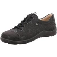 Schuhe Damen Slipper Finn Comfort Schnuerschuhe 02743 901672 schwarz