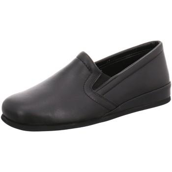 Schuhe Herren Slipper Beck Slipper 7008 schwarz