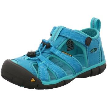 Schuhe Jungen Sandalen / Sandaletten Keen Sandalen SEACAMP II CNX 1012555 türkis