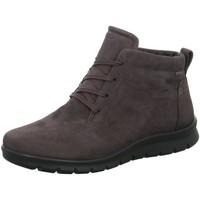 Schuhe Damen Boots Ecco Stiefeletten  BABETT BOOT grau