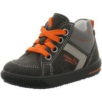 Schuhe Jungen Babyschuhe Superfit Schnuerschuhe 5-00358 Moppy 5-00358-47 schwarz