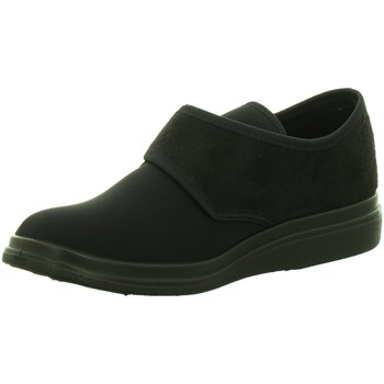 Schuhe Herren Hausschuhe Fischer Schuhe Stretch 13948-222 schwarz