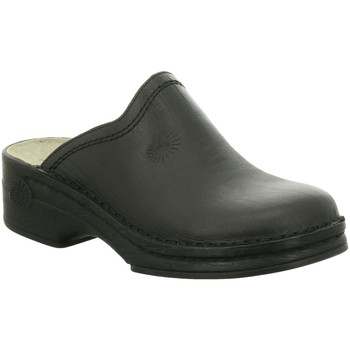 Schuhe Herren Hausschuhe Helix Offene sportrind 52011-31 schwarz