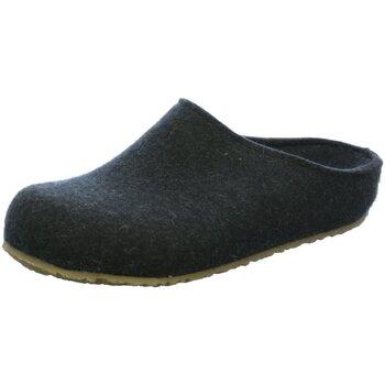 Schuhe Herren Hausschuhe Haflinger Grizzly Michl 711033-377 grau
