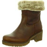 Schuhe Damen Schneestiefel Panama Jack Stiefeletten Napa Grass Cuero Piola B8 braun