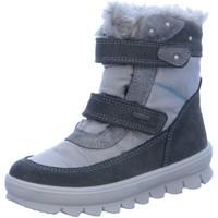 Schuhe Mädchen Schneestiefel Superfit Klettstiefel NV 1-00214-06 - grau
