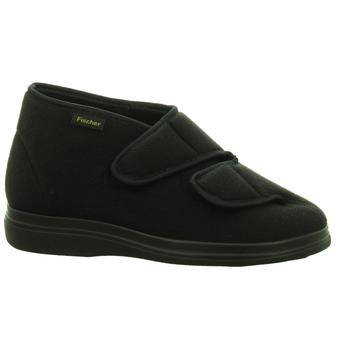 Schuhe Herren Hausschuhe Fischer Schuhe NV 13997 schwarz