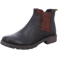 Schuhe Damen Stiefel Ara NV 11-16401-04 blau