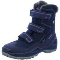 Schuhe Mädchen Schneestiefel Lowa Klettstiefel 650540-6945 blau