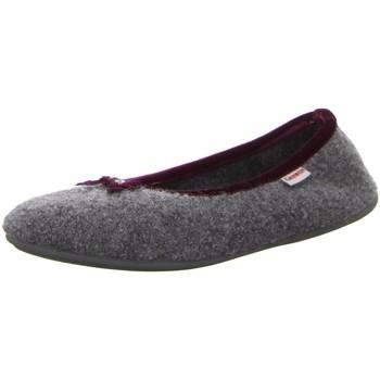 Schuhe Damen Hausschuhe Giesswein HOHENAU ADULTS 6210 44280/017 grau