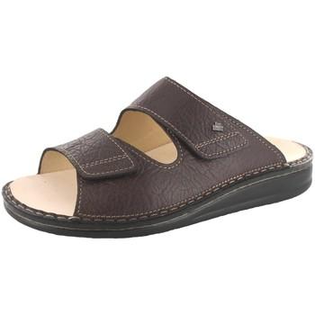 Schuhe Herren Pantoffel Finn Comfort Offene Riad braun