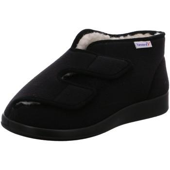 Schuhe Herren Hausschuhe Florett Genua 60925 schwarz