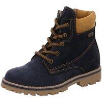 Schuhe Mädchen Wanderschuhe Micio Schnuerstiefel Schnürboot 8015 blu/grano blau