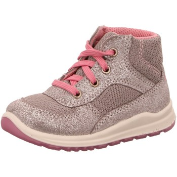 Schuhe Mädchen Boots Superfit Schnuerstiefel NV 00432-43 silber