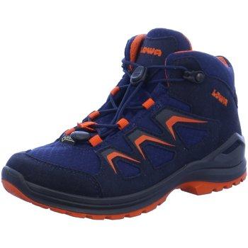Schuhe Jungen Wanderschuhe Lowa Bergschuhe 340126/6910 blau
