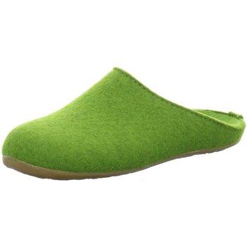 Schuhe Herren Hausschuhe Haflinger 481024 481024/36 grün