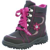 Schuhe Mädchen Schneestiefel Superfit Schnuerstiefel  7-00048-05 grau