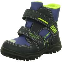 Schuhe Jungen Schneestiefel Superfit Klettstiefel 7-00044-81 blau