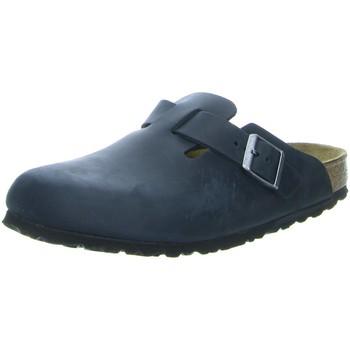 Schuhe Herren Pantoletten / Clogs Birkenstock Offene Boston 059463 schwarz