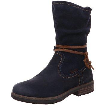 Schuhe Mädchen Stiefel Vado Stiefel Ilka 66006-116 blau