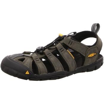 Schuhe Herren Sportliche Sandalen Keen Sportschuhe Clearwater CNX Sandale 1013107MAGNET schwarz