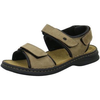 Schuhe Herren Sportliche Sandalen Josef Seibel Offene Sandalette RAFE 10104 11 121 beige