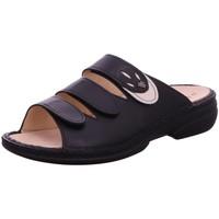 Schuhe Damen Pantoffel Finn Comfort Pantoletten 02554-900418 schwarz