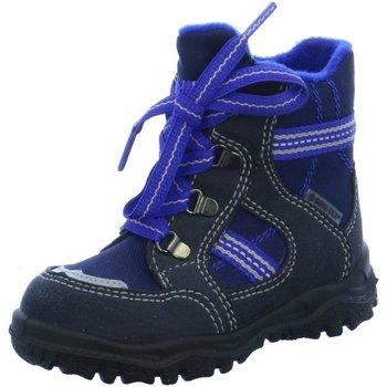 Schuhe Jungen Schneestiefel Superfit Schnuerstiefel 7-00042-80 7-00042-80 blau