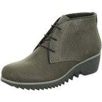 Schuhe Damen Stiefel Wolky Stiefeletten Da.-Schnürer 3818415-dusky-winter grau