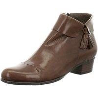 Schuhe Damen Ankle Boots Everybody Stiefeletten 49660Q3254-3/3 braun