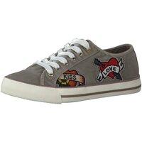 Schuhe Damen Sneaker Low Diverse 55 23639-38/200 grau