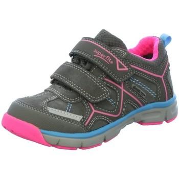 Schuhe Mädchen Sneaker Low Legero Klettschuhe 00411-06 grau