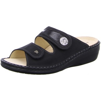 Schuhe Damen Pantoffel Finn Comfort Pantoletten 82582-901231 schwarz